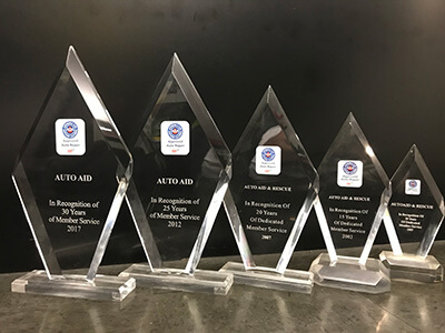 AutoAid's AAA Customer Service Awards