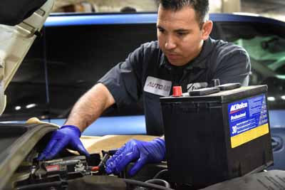 Battery Replacement at AutoAid in Van Nuys